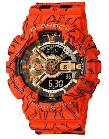 G Shock Dragon Ball Z GA110JDB