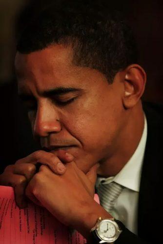 obama praying tag heuer series 1500